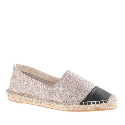 So they aren't #chanel but I love them anyway and they are only $60! {Shimmer cap toe espadrilles}