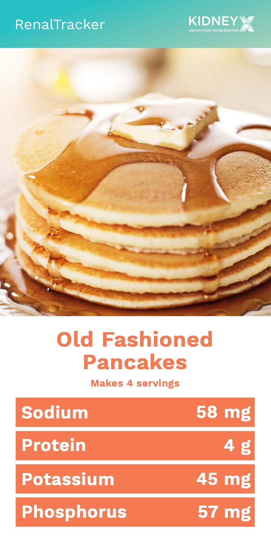CKD-friendly Old-Fashioned Pancakes - RenalTracker Blog