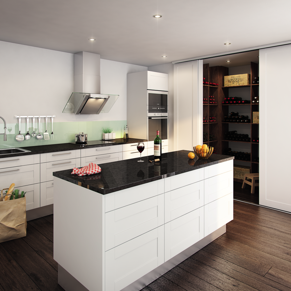 Sliding doors in kitchen | Kitchen | Pinterest | Doors, Sliding ...