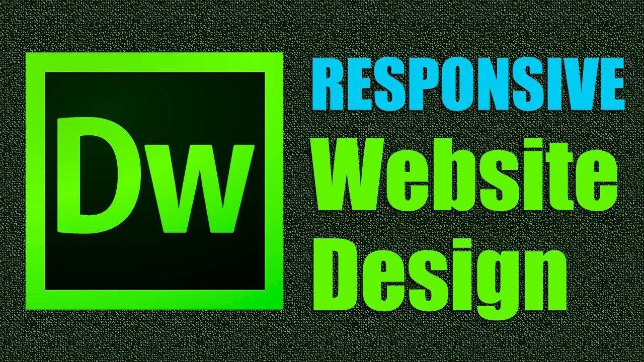 Pin By Andrew Carson On Design Adobe Dreamweaver Website Design Responsive Website Design