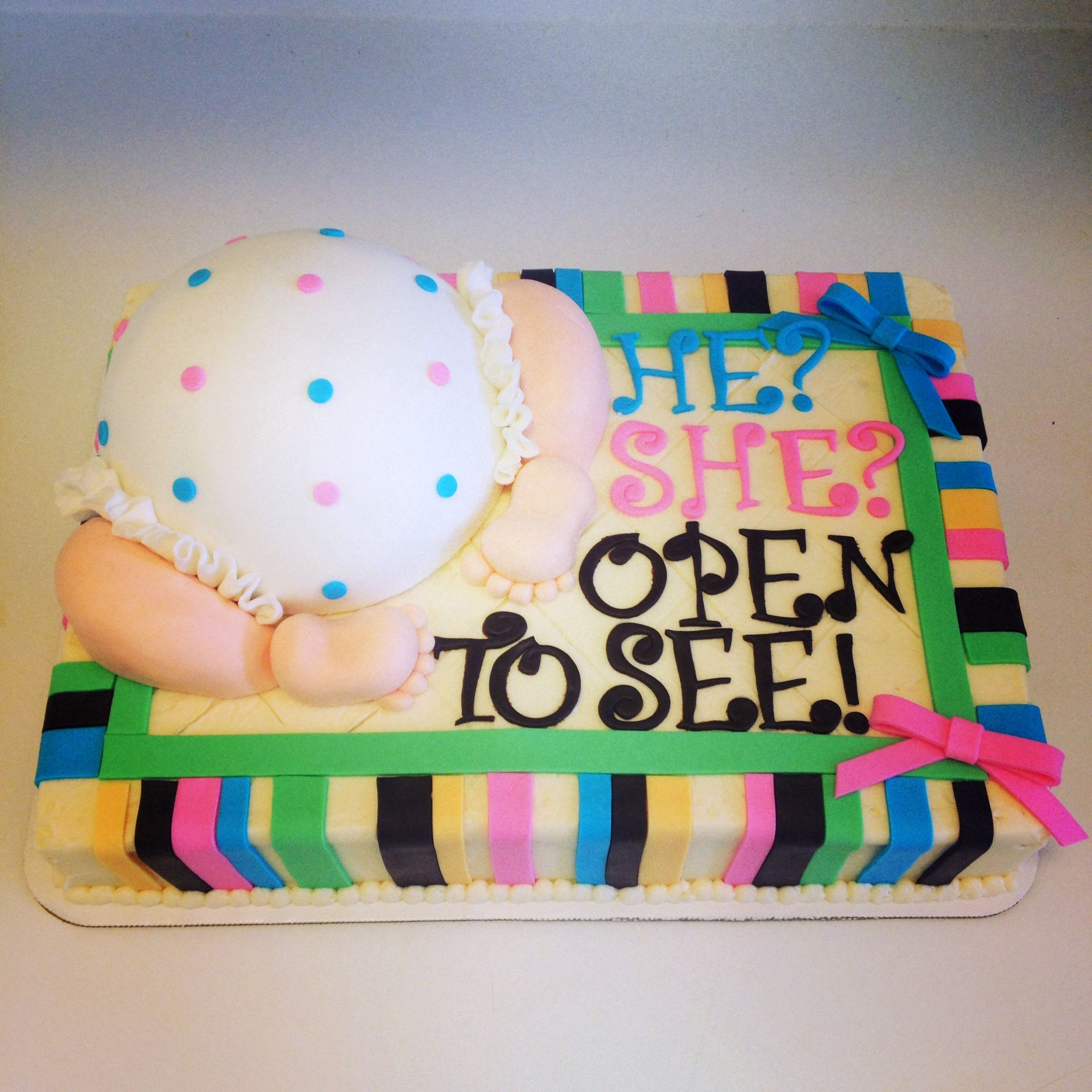 Pin By Shannon Steagall On Cute Ideas Gender Reveal Cake Gender Party Gender Reveal Party