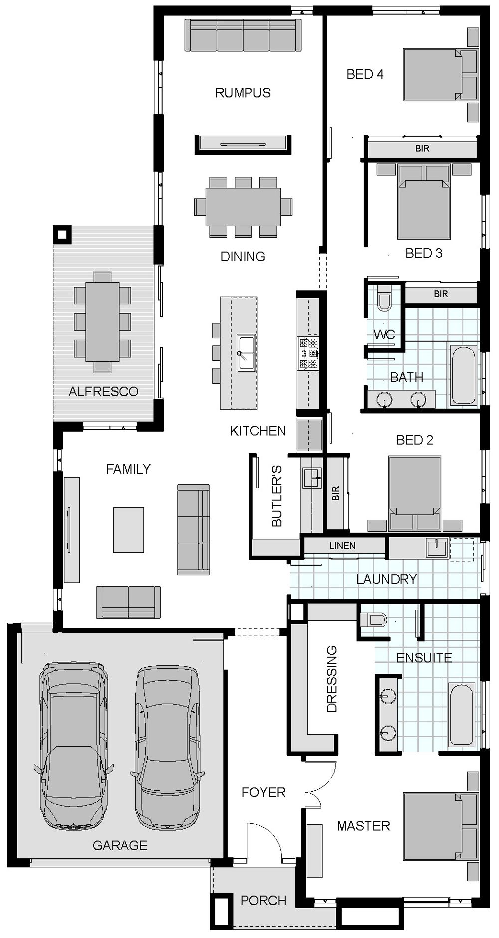 Home Dream House Plans 4 Bedroom House Plans House Floor Plans