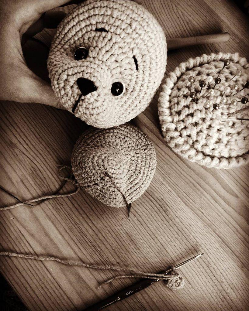Crochet bear amigurumi pattern | Amiguroom Toys | 1024x819