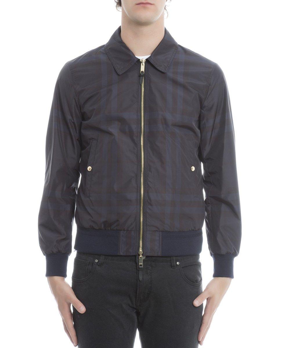 BURBERRY Burberry Men'S 4044757 Blue Polyester Outerwear Jacket'. #burberry #cloth #coats & jackets