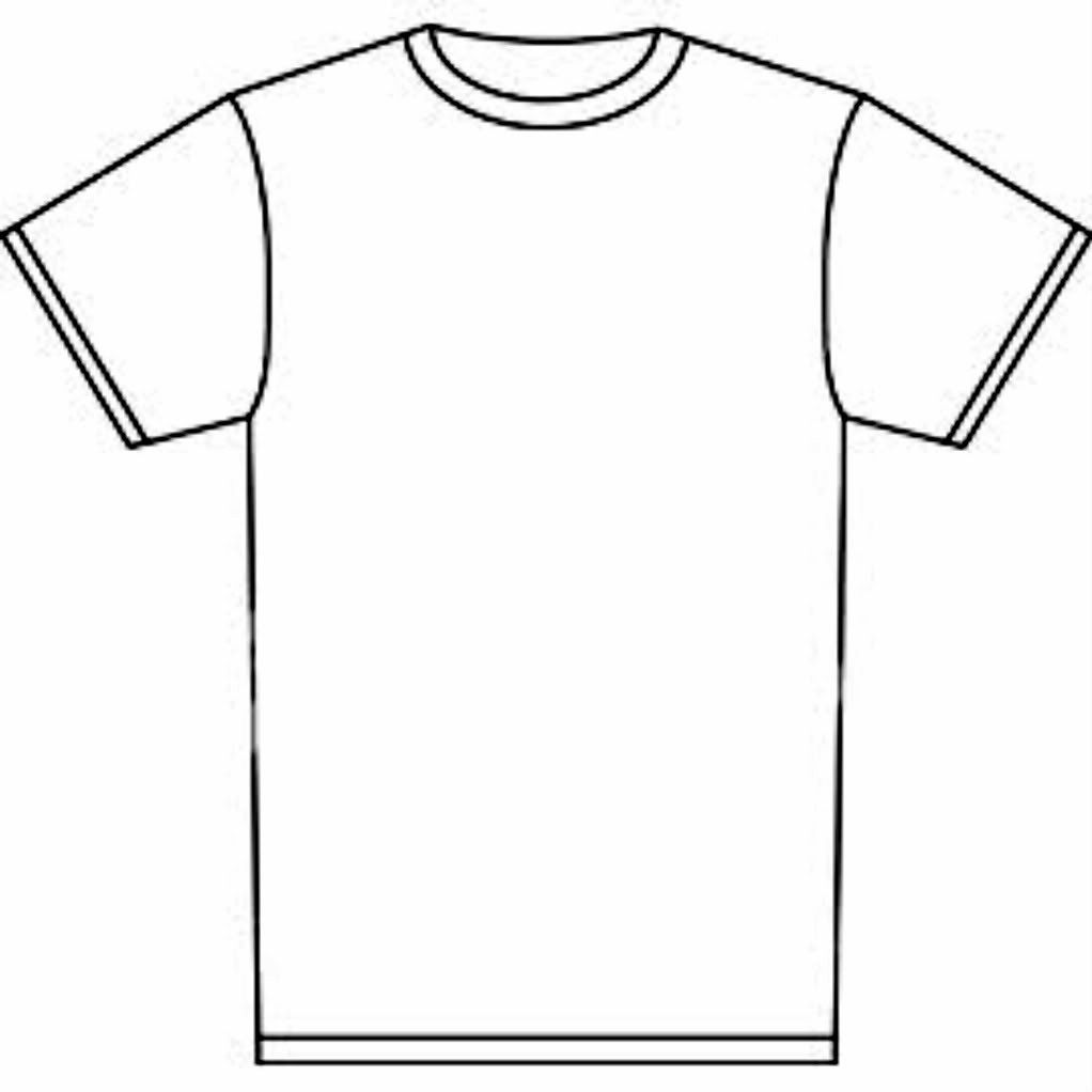 Blank Tshirt Template Tryprodermagenix Org Prepossessing T ...