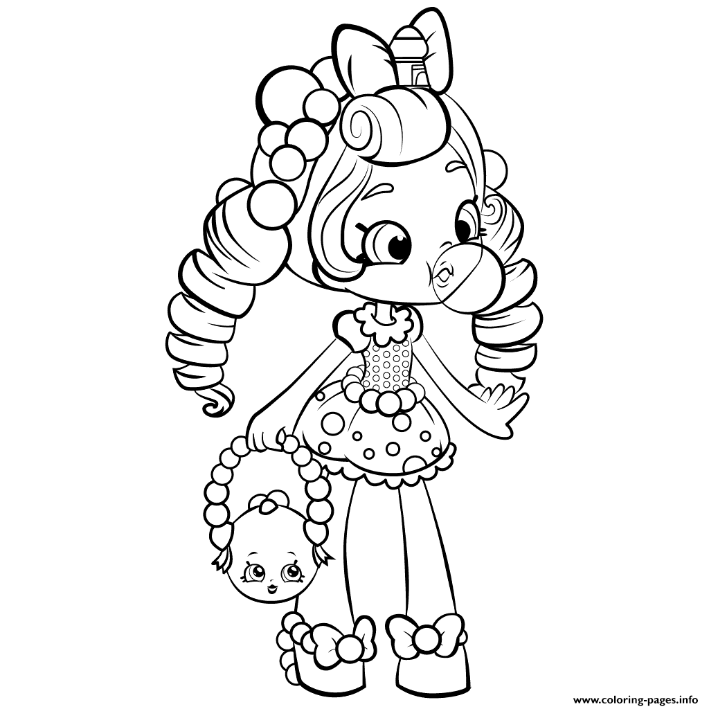 shopkin doll coloring pages - photo#8