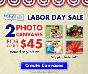 This is awesome. I just ordered two photo canvases for $45.