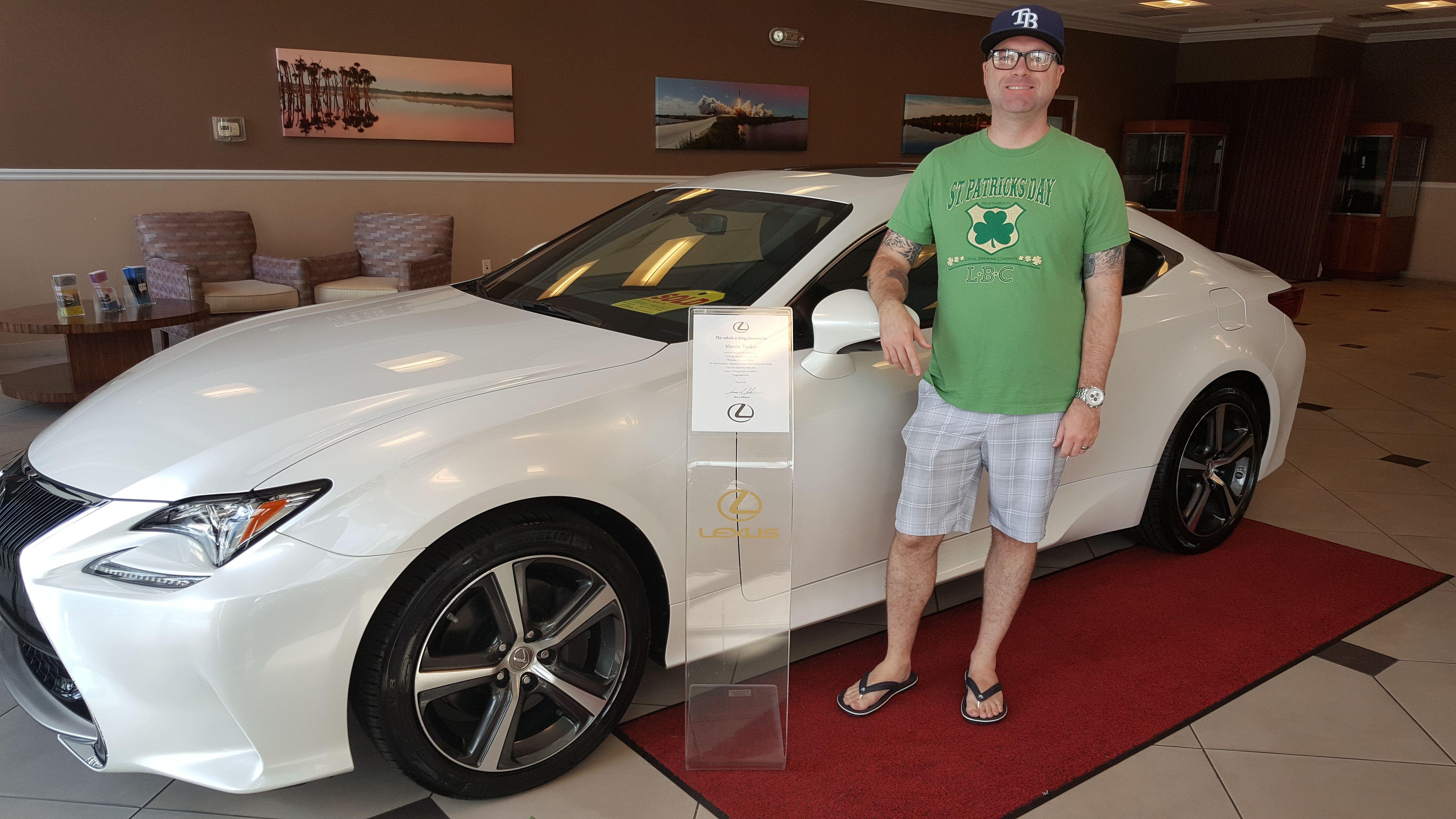 Congratulations To Marvin T On The Purchase Of His 2017 Lexus Rc200t From Our Team Member Steve At Lexus Of Orange Park Than Lexus Lexus Dealer Orange Park