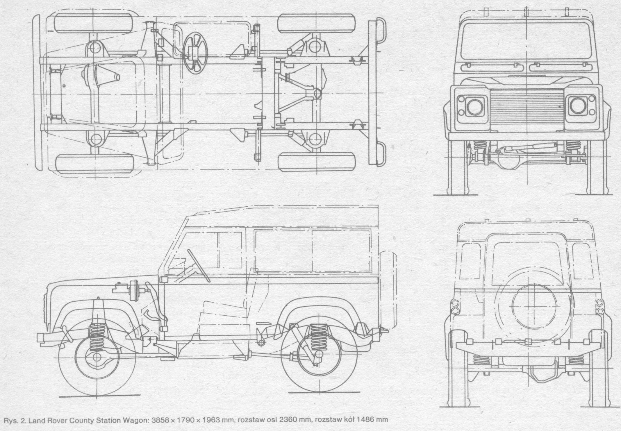 land-rover-defender blueprint | Land Rover | Pinterest | Bocetos ...