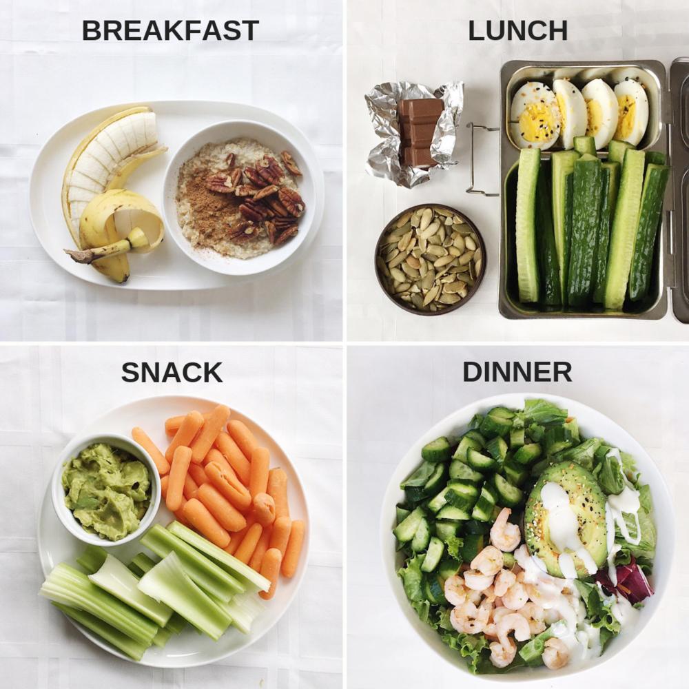 1450 calorie diet in food