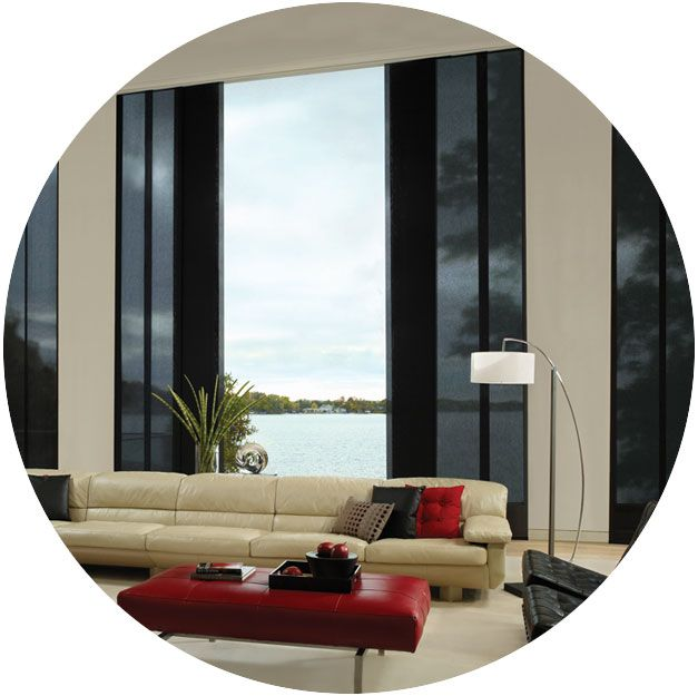Hunter Douglas Has Custom Window Treatments For Covering Patio Doors And Sliding  Glass Doors That Meet