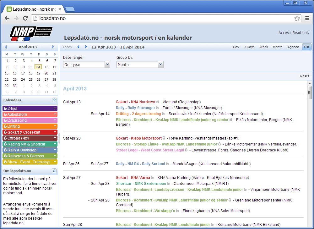 Event Calendar  Teamup Calendar Gallery    Online Calendar