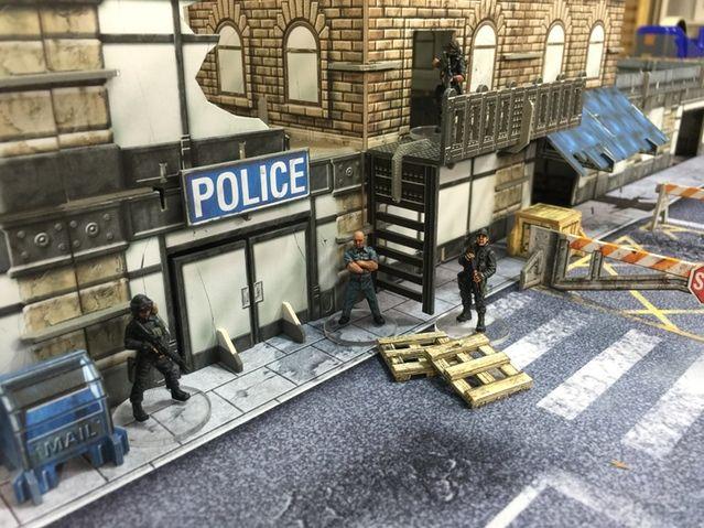 zombie miniature riot gear - Google Search