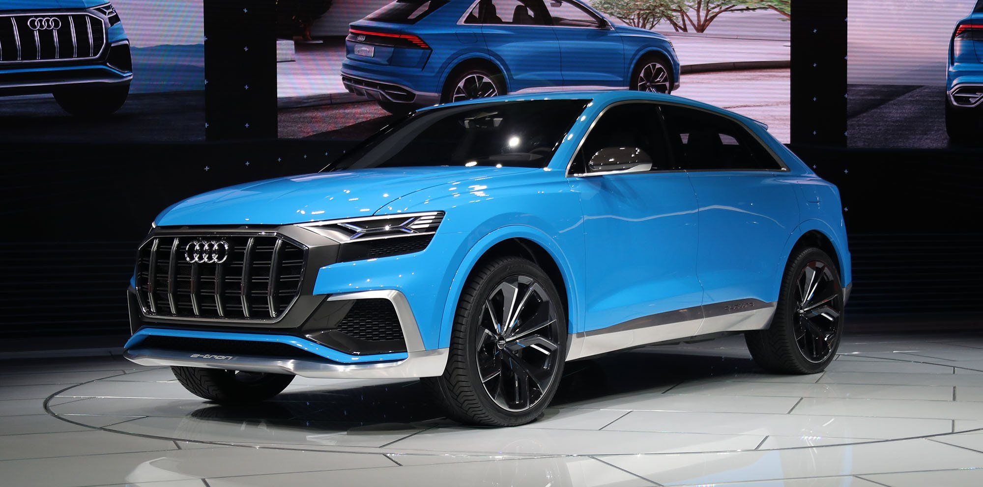 Audi q8 sport suv concept hybrid 2018 audi q8 styling one would tend to think that