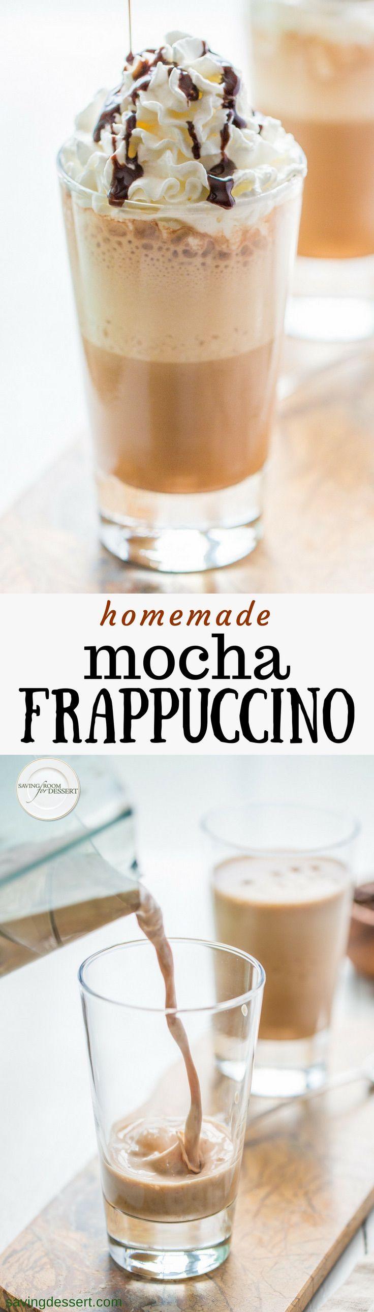 Homemade Mocha Frappuccino Recipe Homemade mocha