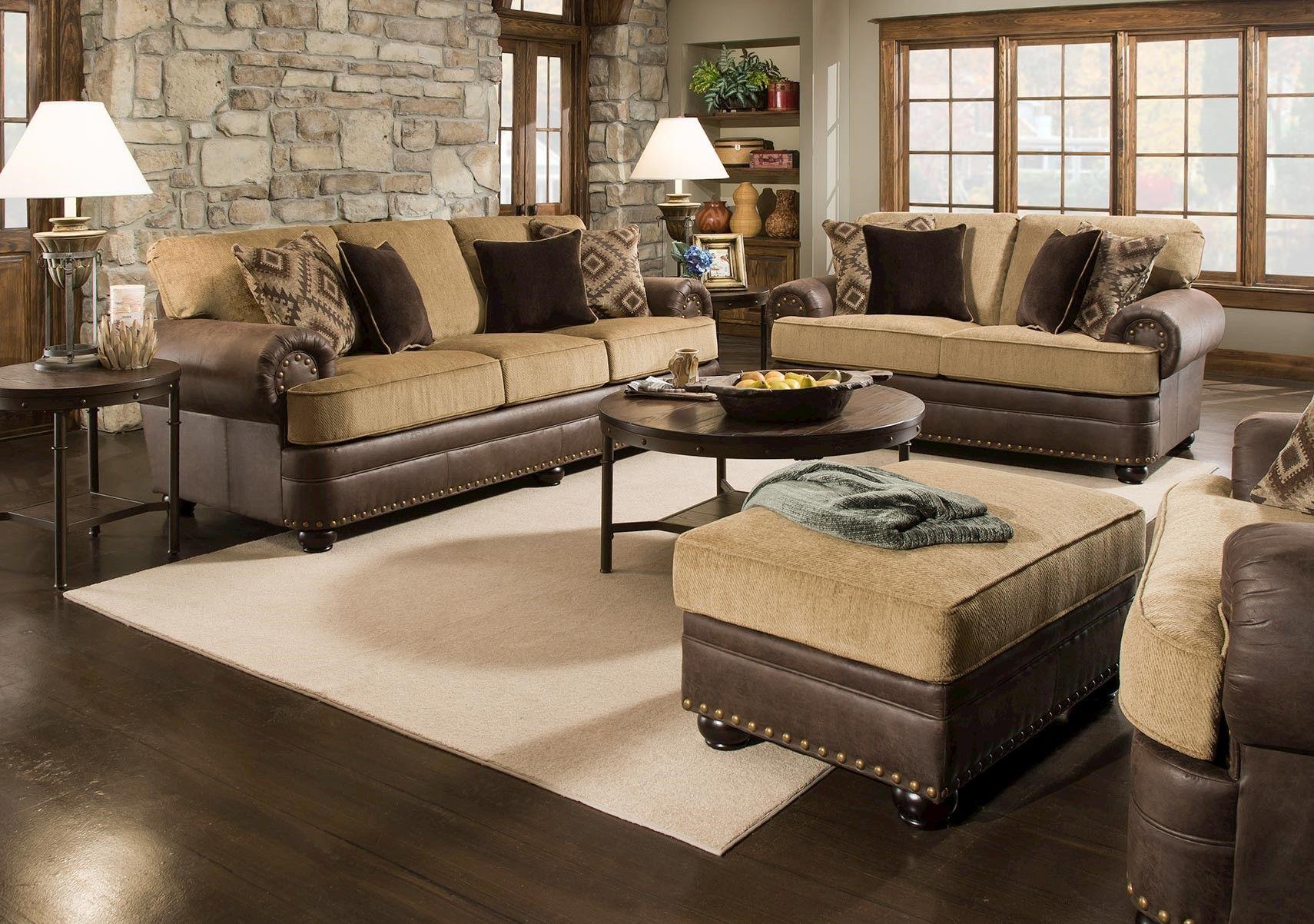 Lacks   Lattimer 2-Pc Living Room Set   Leather / Faux Leather ...