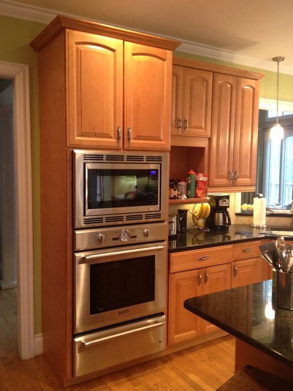 Specialty Cabinet Finishes Portfolio, Asheville, NC Provides Before And  After Pictures Of Kitchen Cabinet