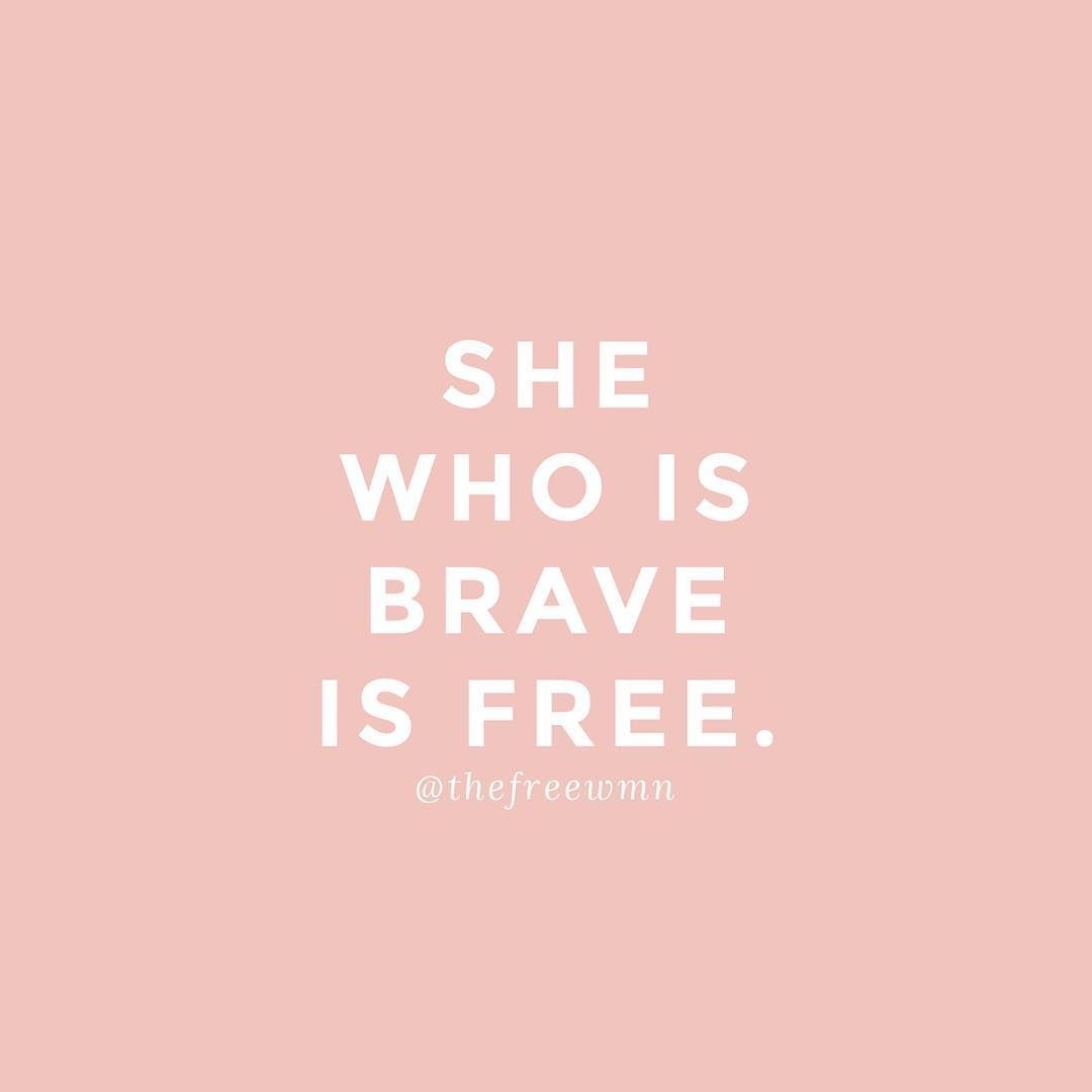 Tattoo Quotes Brave: Bravery Is Never Easy, But It's Oh So Worth It Everytime