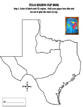 Map Of Texas Natural Resources.Texas Regions Foldable Social Studies Texas History Interactive