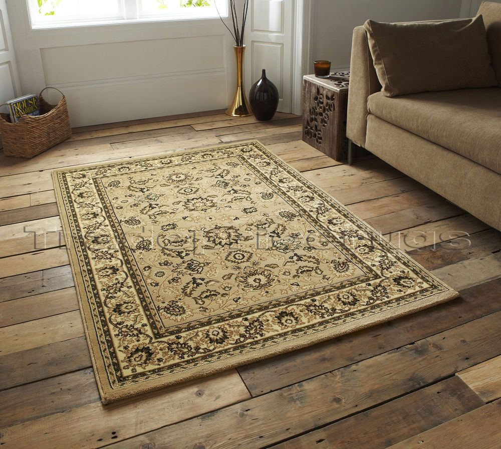 Extra Large Beige Traditional