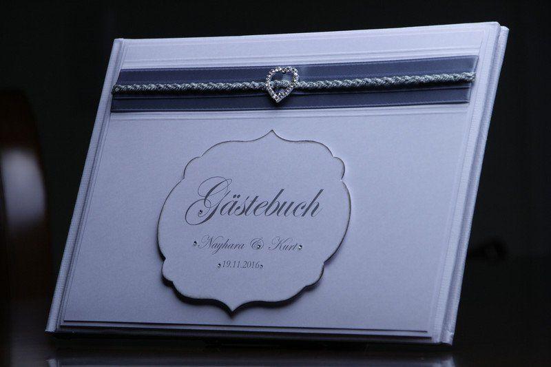 Hochzeitsgästebuch - Gästebuch - Nayhara - ein Designerstück von EvasCardArt bei DaWanda