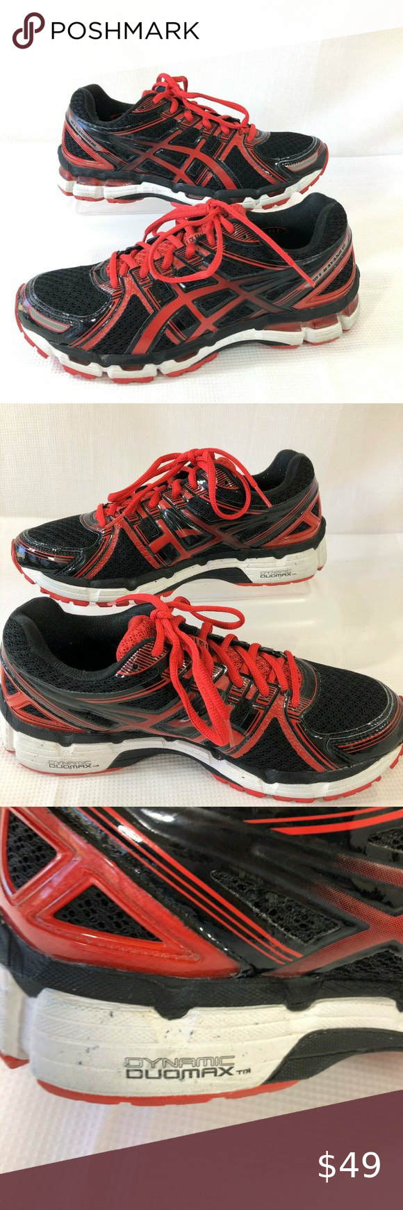 Asics Gel Kayano 19 Running Shoes Mens Size 8.5 M   Asics gel ...