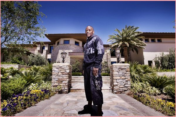Inside Floyd Mayweather S Las Vegas Mansion With Images