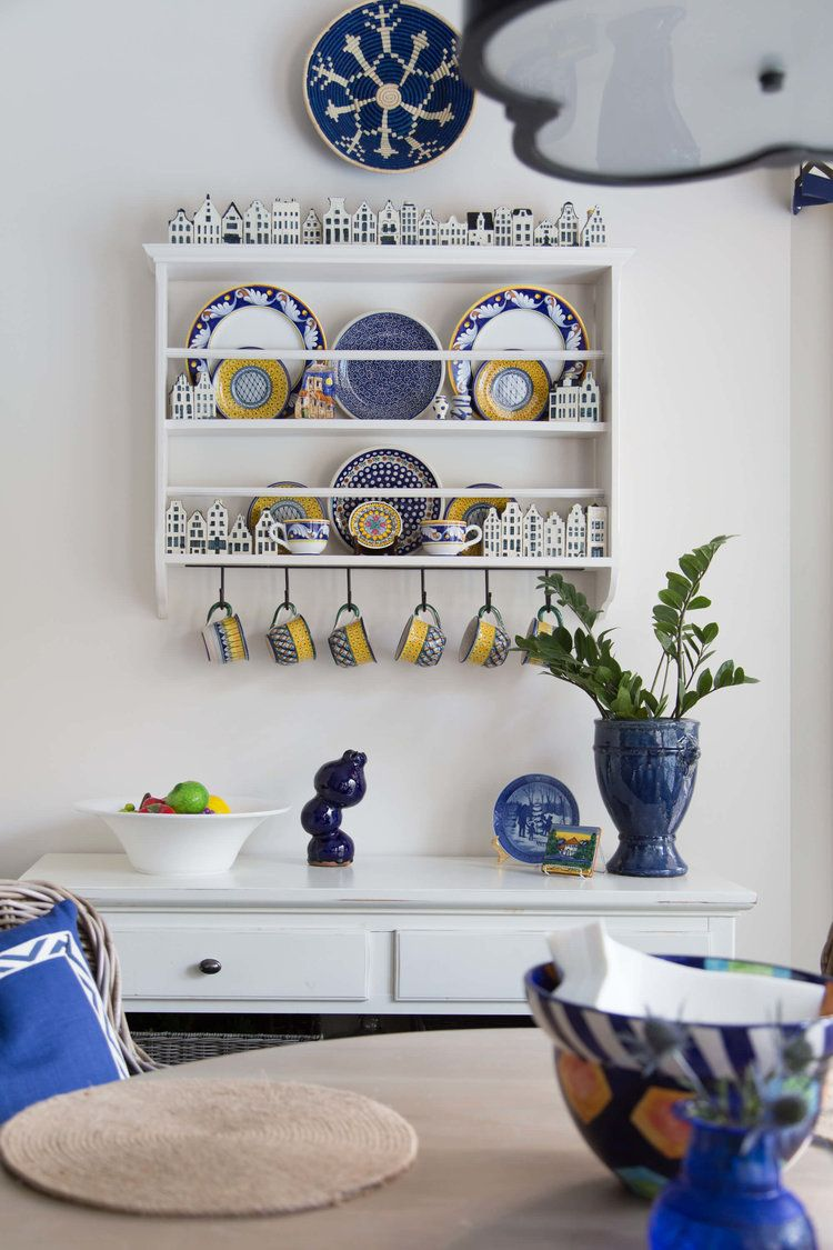 Before and after my own kitchen remodel reveal plate racks