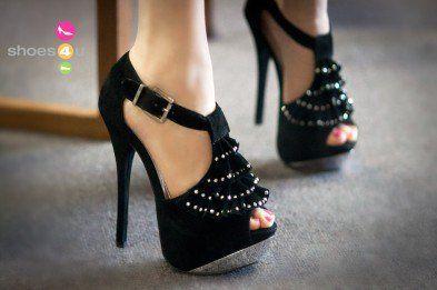 Liliana Jeweled Ruffle Open Toe Stiletto Heel - Shoes 4 U Las Vegas on  Wanelo c16d8553e9