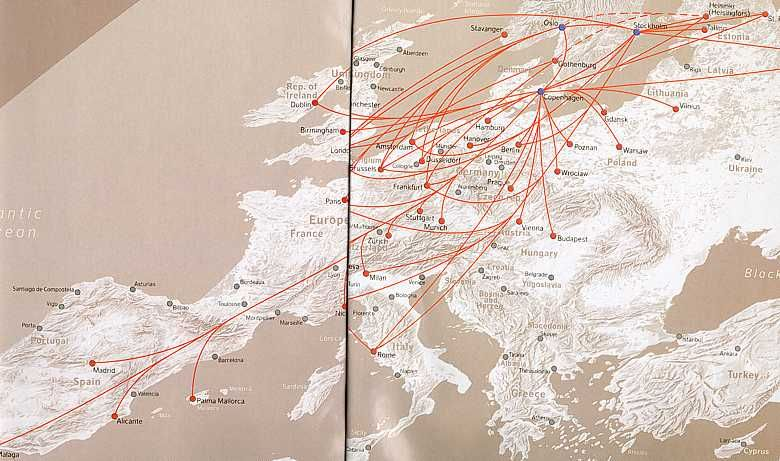 SAS Scandinavian Airlines Europe route map | Luftfahrt - SAS ... on israel airlines route map, biman route map, air china route map, burlington route map, aegean route map, air new zealand route map, american route map, pan mass route map, air berlin route map, saudi arabian airlines route map, etihad airways route map, united route map, syrian airlines route map, croatia airlines route map, alitalia route map, cubana airlines route map, estonian air route map, air india route map, luxair route map,