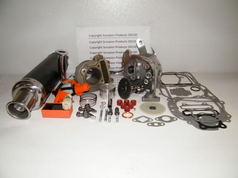 100cc Big Bore Kit Performance Power Pack Gy6 50cc QMB139