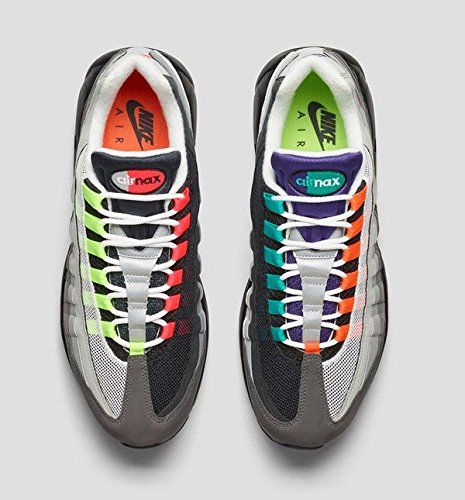 Nike Air Max 95 OG QS Greedy Black Volt Safety Orange Size 8 810374-078  http://www.fitnessandactivity.com/nike-air-max-95-og-qs-greedy-black-volt-safety-orange-size-8-810374-078/