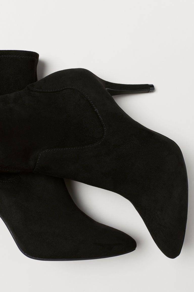 f8943553fd00c Ponožkové čižmy - čierna - ŽENY   H&M SK 3