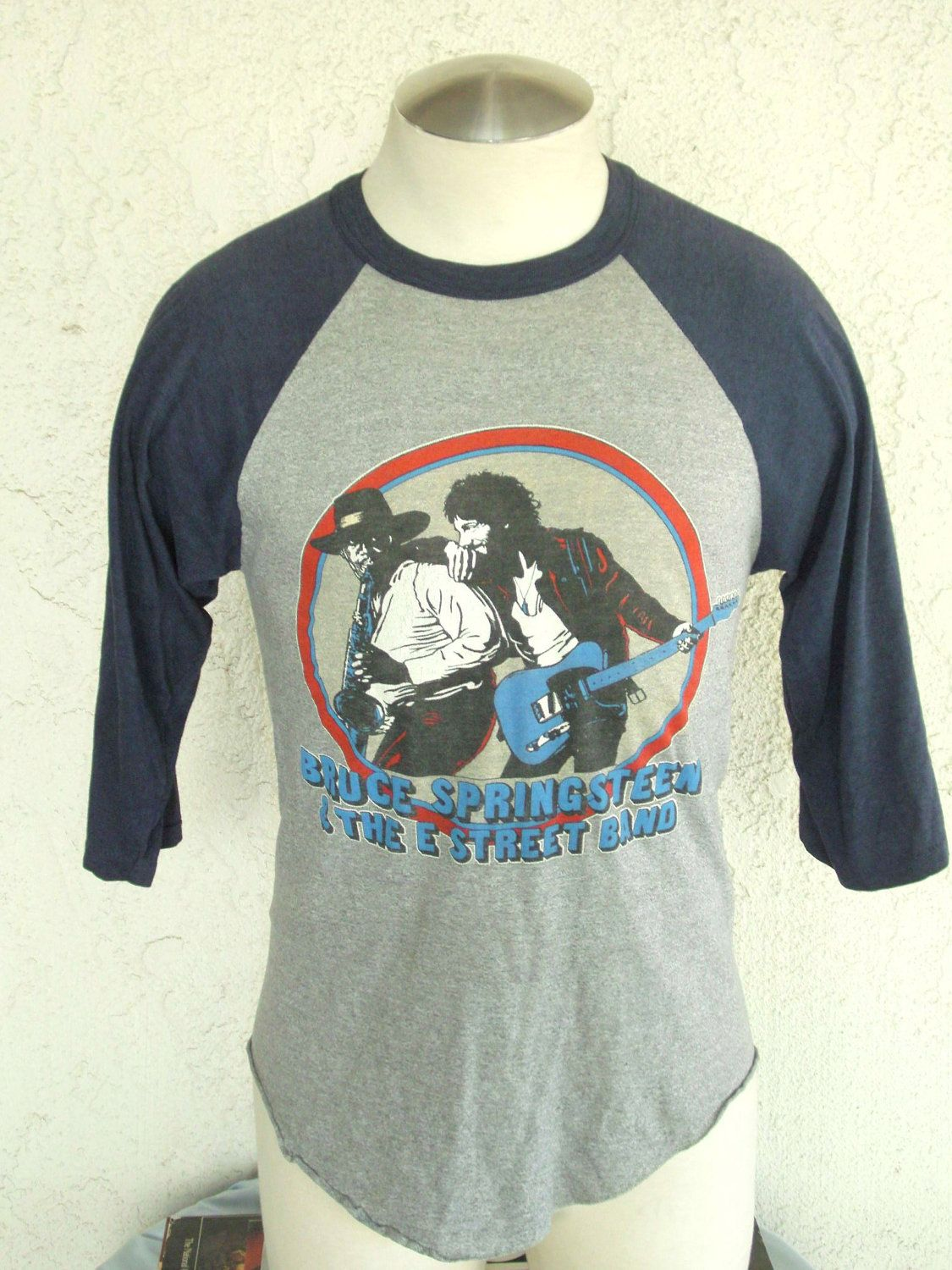 Vintage bruce springsteen concert world tour t shirt 1980 81 sz large 124 99 via etsy had that tshirt