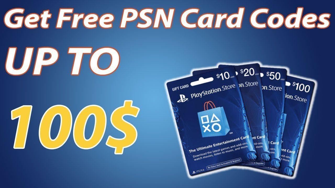 How to Get Free PSN Card Codes That Work 100% - PSN code generator