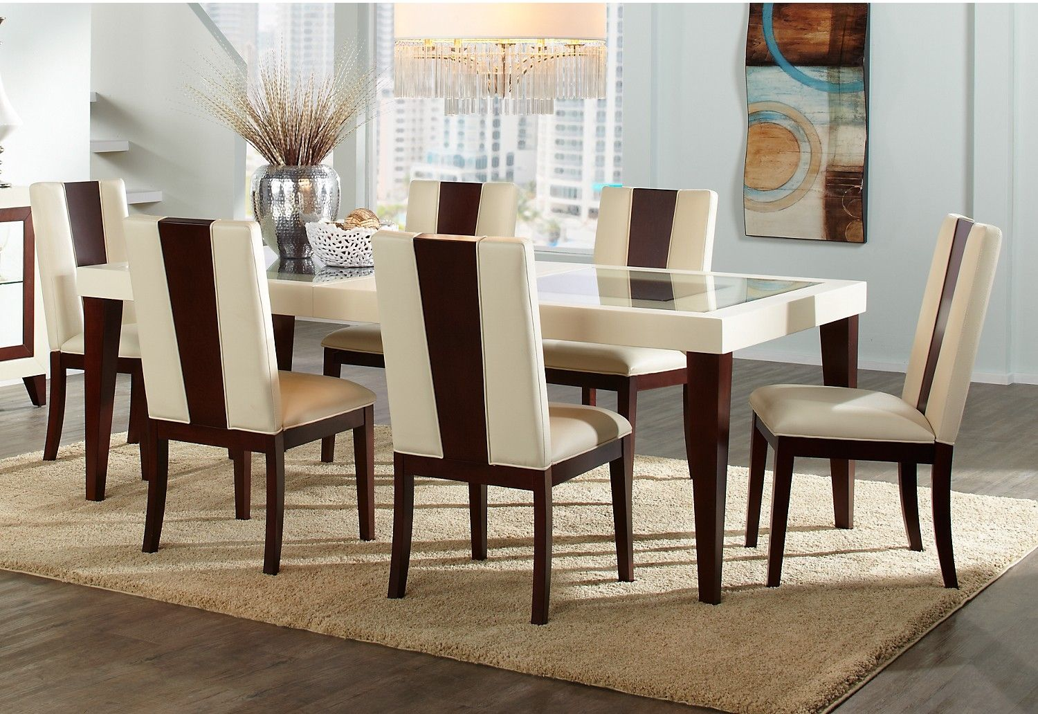 Genial Room · Zeno 7 Piece Dining Package | The Brick