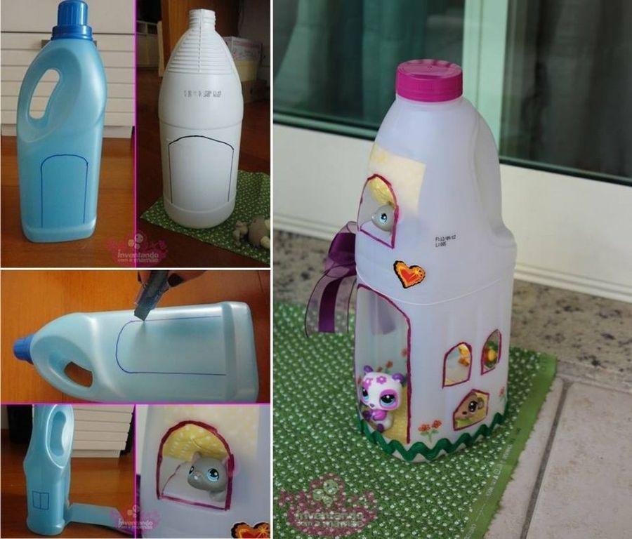 7 ideas para reciclar botellas de plástico (te las recordamos una a