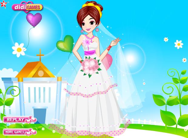 Beautiful Red Bride Dressup | Wedding Dress up Games | Pinterest ...