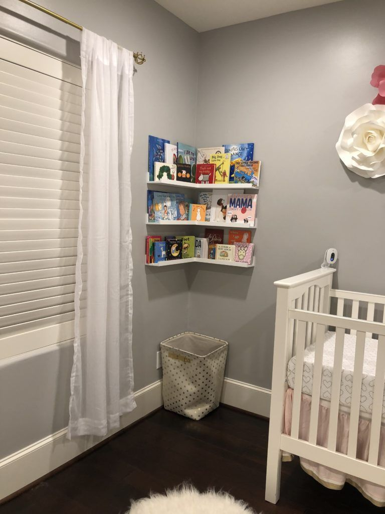 Lana S Nursery Corner Shelves Wall Bookshelves Nursery Shelves