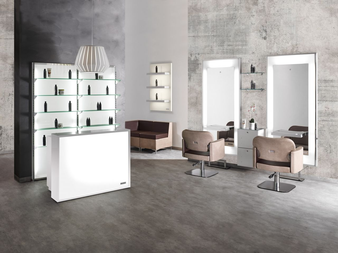 Mobili Parrucchiere ~ Salon ambience hairdressing furniture made in italy