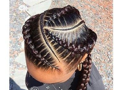 Styled Chic African Hairstyles In 2018 Pinterest Cabello - Peinados-originales-con-trenzas