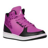 purple jordan shoes for girls
