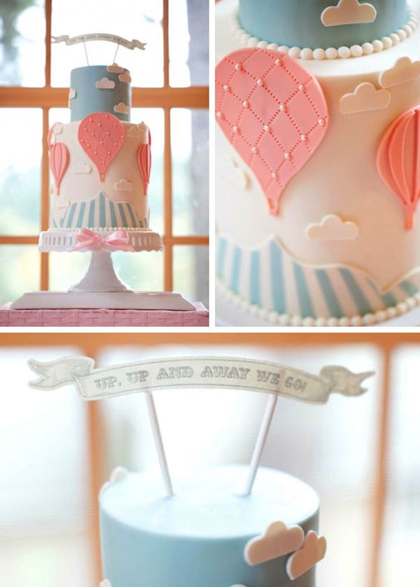 Up & Away Baby Shower 3