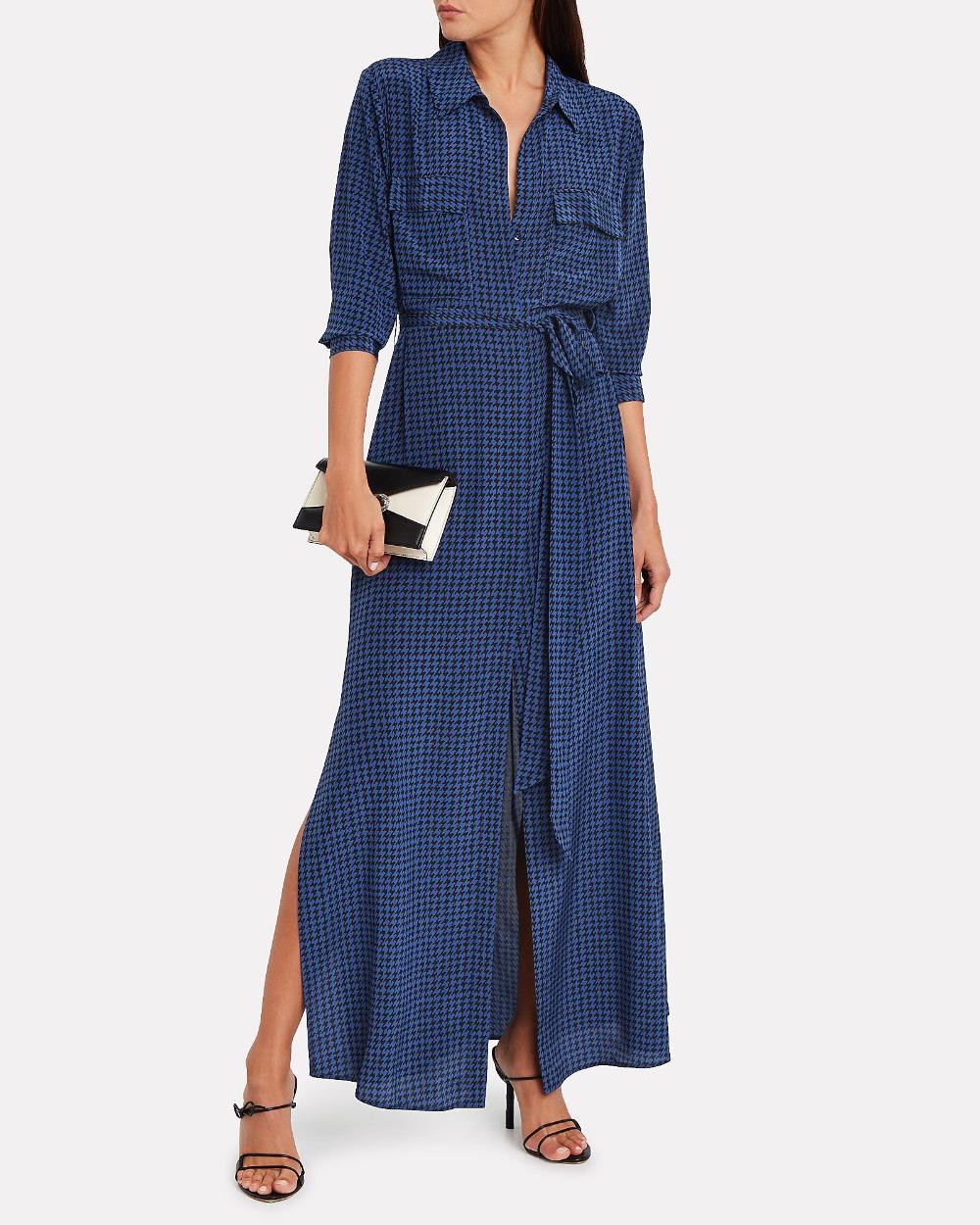Cameron Houndstooth Shirt Dress Houndstooth Shirt Dresses Shirt Dress [ 1250 x 1000 Pixel ]