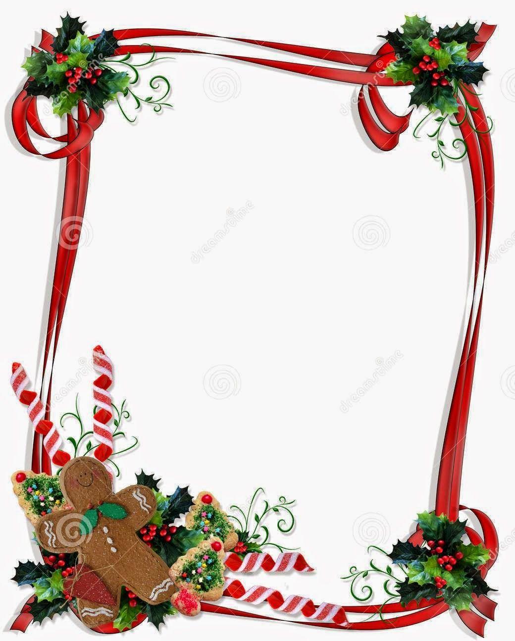 24+ Christmas borders clipart free printable information