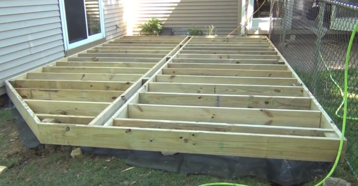 Screen Shot 2014 12 25 At 7 12 12 Pm E1458484084576 Jpg 1200 625 Building A Deck Deck Plans Ground Level Deck