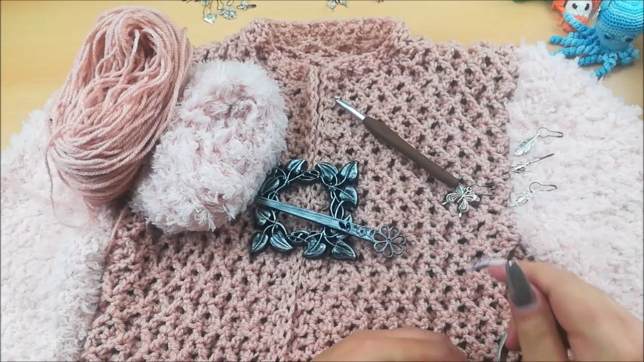 Wlog Over Berona Vest Vest Haken Crochet Along Berona Vest