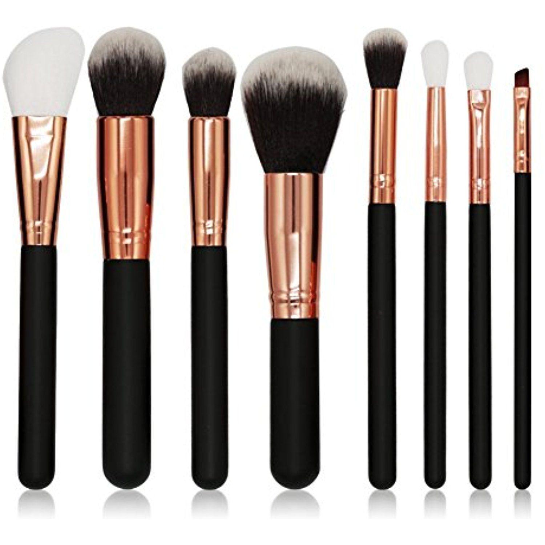 90da93a4971f BeautyKate 8pcs Makeup Brushes Set Cosmetic Blusher Eye Shadow Brush ...