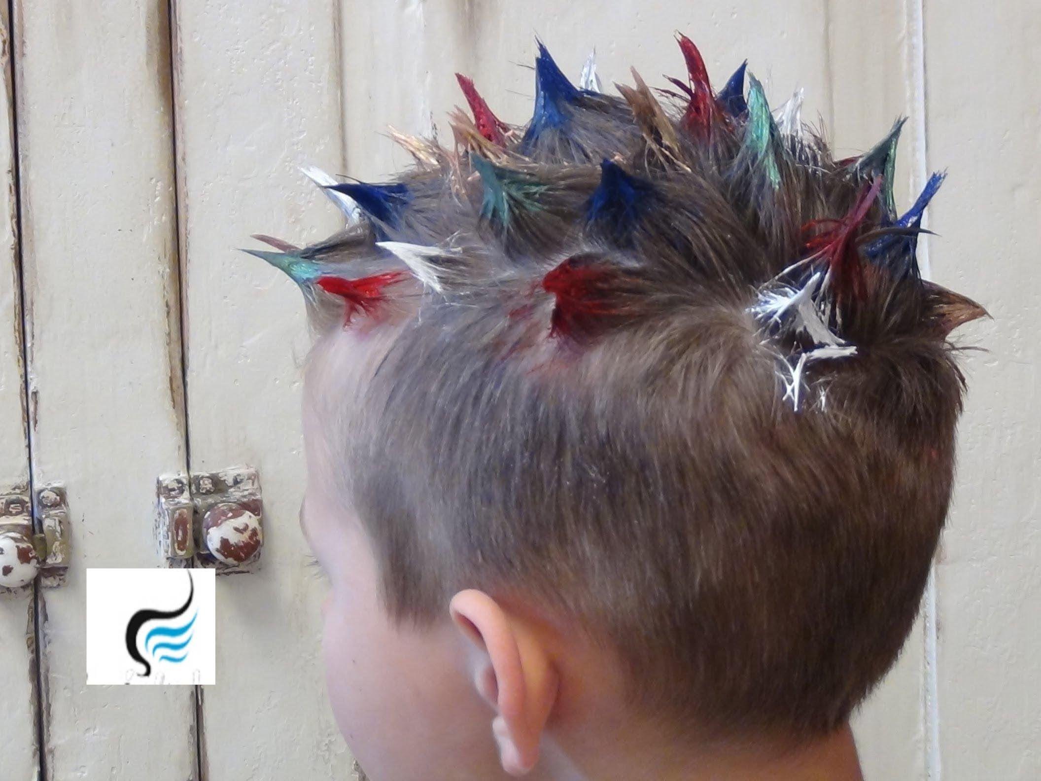 Hair Sticking To Spray Paint