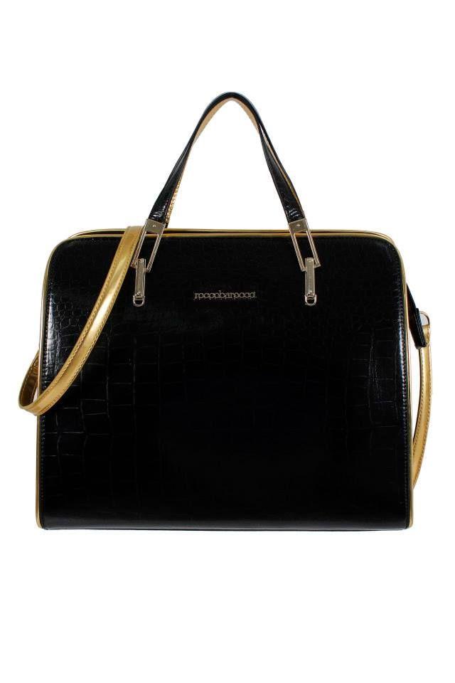 4c6b5d7ef8f Rocco Barocco bag nera -  black  bag